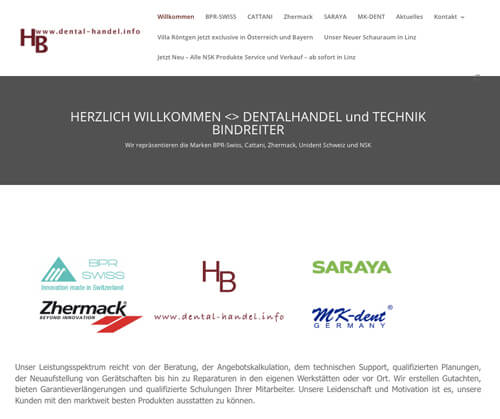 Dentalhandel + Technik