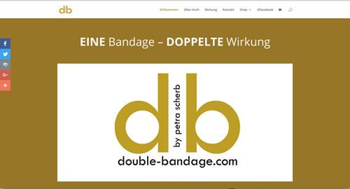 double bandage – EINE Bandage DOPPELTE Wirkung